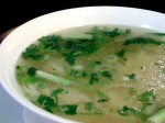 pho broth 150x112 Culantro in Pho   An Herb in a League of Its Own