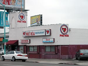 Pho Hoa on El Cajon Blvd.