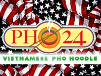 Pho24 with US flag