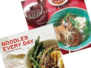 Cookbooks by Corinne Trang and Andrea Nguyen