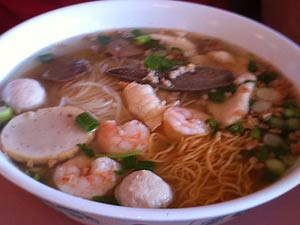 Hu tieu mi (Chinese egg noodle)