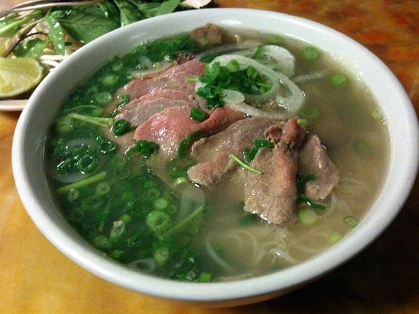 beef pho Pho Hoa Linda Vista