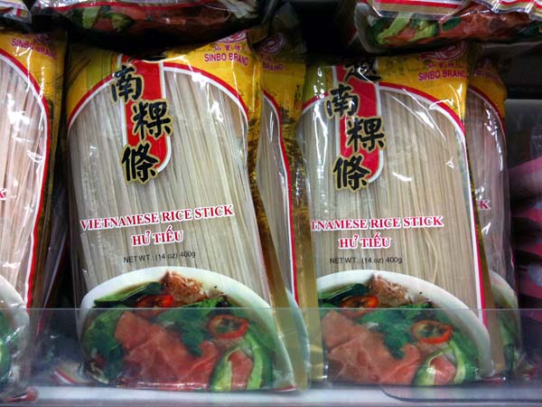 Hu tieu noodle package
