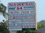 pho 54 sign 150x112 Vietnamese, Little Saigon, Bolsa, and Pho by the Numbers