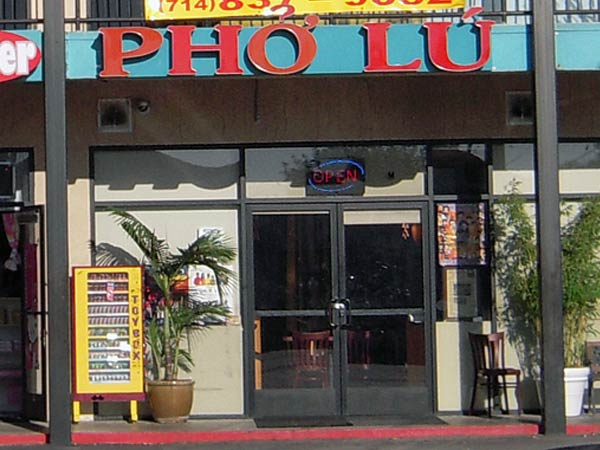 pho lu front What Is Great and Authentic Pho? Heres One Example
