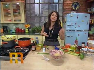 Rachel Ray and the Phunky BBQ Pho with Pork