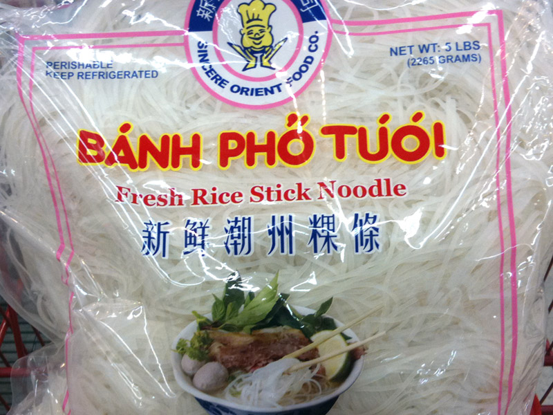 extra banh pho noodles How to Order Extra Bánh Phở Noodles With Your Pho