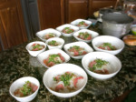 Making pho at home Pho bowls on TT counter 150x112 What Is Great and Authentic Pho? Heres One Example
