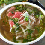 pho bowl 150x150 Culantro in Pho   An Herb in a League of Its Own