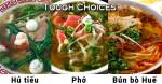 Tough Choices: Pho, Hu Tieu or Bun Bo Hue